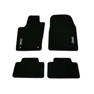 2011 Jeep Grand Cherokee Premium Carpet Floor Mats Black