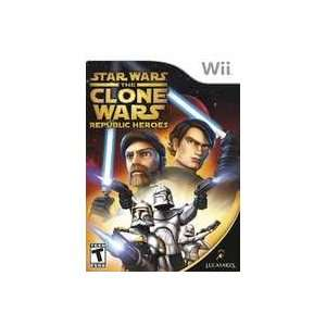 New Lucasarts Entertainment Star Wars Clone Wars Republic Heroes Video