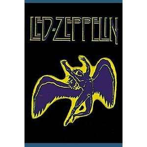 LED ZEPPELIN SWAN SONG FLAG   TEXTILE POSTER BRAND NEW