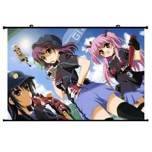 Angel Beats Anime Wall Scroll Poster Nakamura Yuri Shiina