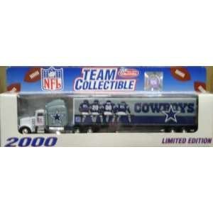 NFL Team Collectible Dallas Cowboy Model Semi Truck