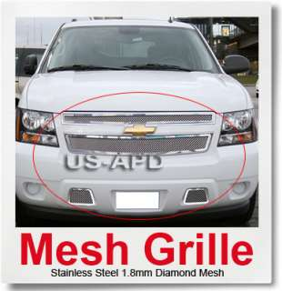 07 2011 Chevy Tahoe/Suburban/Avalanche Mesh Grille Comb