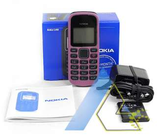 New Nokia 1280 Pink Unlocked GSM Phone+4Gifts+Wty