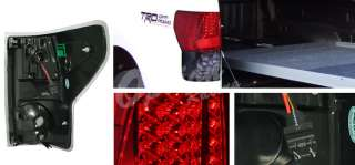 2007 2008 TOYOTA TUNDRA LED TAIL LIGHT CREW LIMITED 08