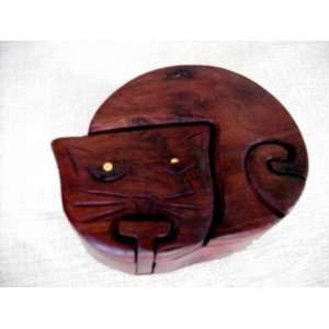 Handmade, Handcrafted, Wooden Puzzle, Decoration   Cat Toys & Games