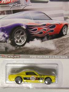 Hot Wheels 2012 Racing FORD MUSTANG 2+2 FASTBACK Yellow Muscle Series