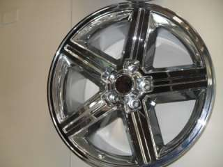 20x9 Chevy Camaro Iroc Chrome Wheels 702 2934