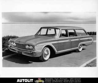 1960 Ford Woodie Station Wagon Factory Photo