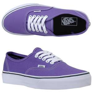 NEW WOMEN VANS AUTHENTIC PASSION FLOWER PURPLE 100% AUTHENTIC IN THE