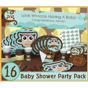 Owl   Look Whooos Having A Baby   16 Baby Shower Party