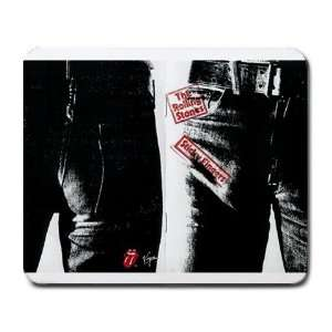 The Rolling Stones Sticky Fingers Large Mousepad Office