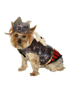Dog Fancy Dress Pirate costume + hat. Immediate post