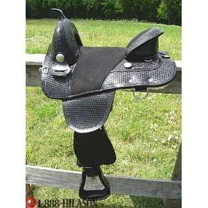 Hilason Treeless Barrel Racing/trail Saddle.14