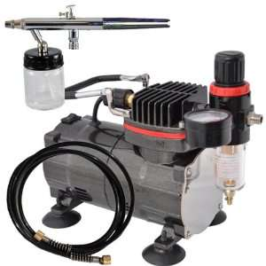 Pro Siphon Feed Airbrushing System High Performance Multi