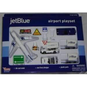 12 pc Airline Play Set Jet Blue Airlines