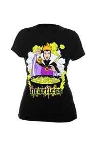 Disney Snow White Heartless Queen Girls Tee Shirt