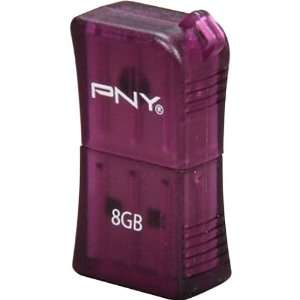 PNY Technologies 8GB Micro Sleek Attache 2.0 USB Flash Drive