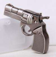 8GB Metal Revolver Gun Memory Stick USB Flash Drive 8G
