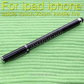 2in1 Capacitive Touch Screen Stylus Ball Point Pen for iPad iPhone
