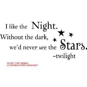 stars twilight cute wall quotes decals sayings vinyl