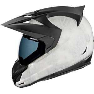 Icon Construct Mens Variant Street Racing Motorcycle Helmet   Medium
