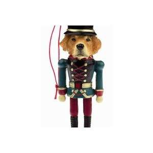 Golden Retriever Dog Soldier Nut Cracker Ornament Pet