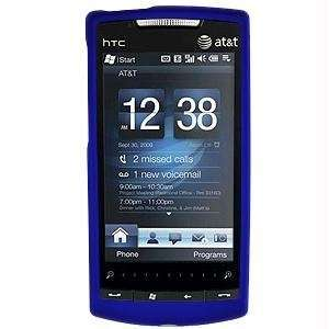 SnapOn Rubberized Cover for HTC Pure   Blue Cell Phones & Accessories