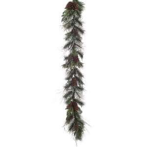Berry Pine Cone Artificial Christmas Garland   Unlit