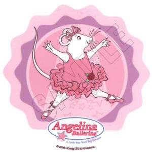Angelina Ballerina Edible Image Cake Decoration