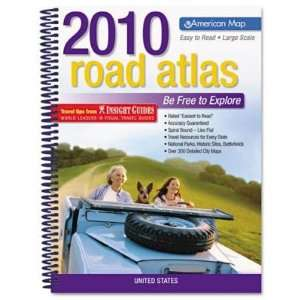 2007 United States Road Atlas, Large Type, Soft Cover