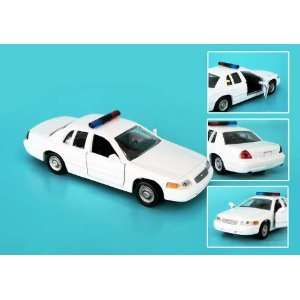Redbox 1/43 Blank White Ford Crown Victoria Police Car