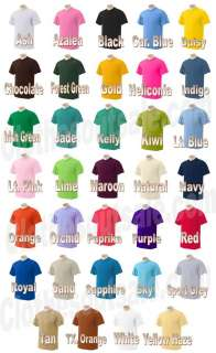 Gildan 50/50 5.6 oz Ultra Blend T Shirt SM XL 34 COLORS
