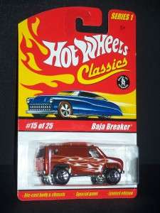 2004 HOT WHEELS CLASSICS SERIES 1 BAJA BREAKER 15 OF 25 METALLIC