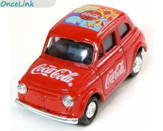 COCA COLA COKE Collectabl​e Red Mini Metal Car Truck