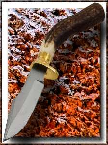 Steel Stag Knives Genuine Stag Horn Stainless Steel Hunting Knife