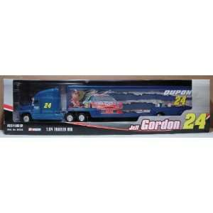 Jeff Gordon 24 164 Truck & Trailer Rig Toys & Games