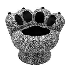 Paw Chair Snow Leopard