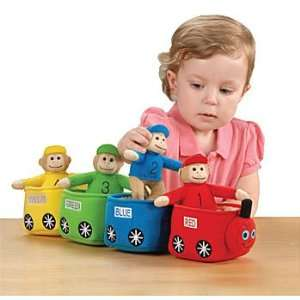 Play & Learn Monkey Train Toys & Games