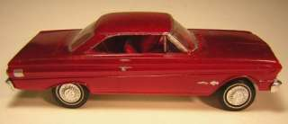 Vintage AMT 1964 Ford Falcon Sprint Model Car 1/25, Built with Box, No