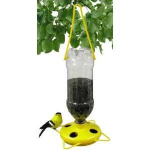 Thistle Bird Feeder   Yellow, Any Size Bottle, Filling Funnel, Bottles