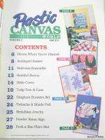 Canvas World Magazine March 1993 ~ Barbie Bedroom, Tulips, Spring