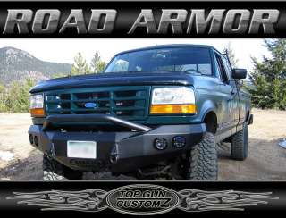 92 97 Ford F250/F350 Road Armor Pre Runner Front Bumper