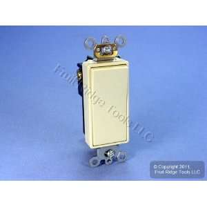 Leviton Ivory COMMERCIAL Decora Rocker Wall Light Switch 20A 5621 2I