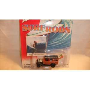 JOHNNY LIGHTNING SURF RODS 1931 FORD MODEL A STATION WAGON