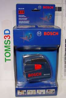 BOSCH GLL2 10   Self Leveling Cross Line Laser
