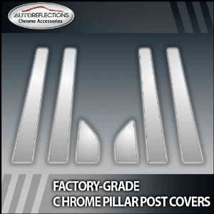 99 09 Mercury Ls 6Pc Chrome Pillar Post Covers Automotive