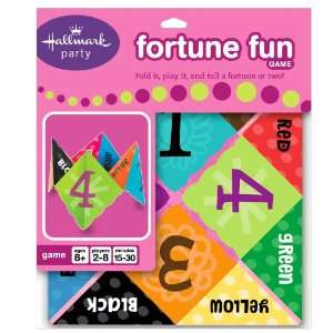 Lets Party By Hallmark Fortune Fun Game