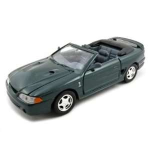 1998 Ford Mustang SVT Cobra Diecast Car Model 1/24