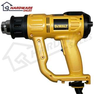 DeWALT D26960 Heavy Duty Corded 150 1100F LCD Heat Gun