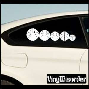 Family Decal Set Sports Basketball Stick People Car or